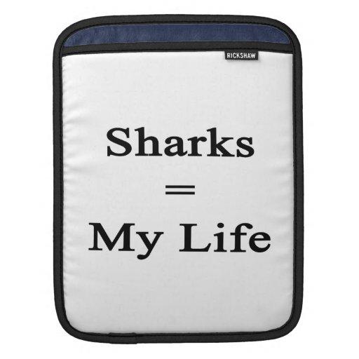 Los tiburones igualan mi vida manga de iPad