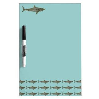 Los tiburones refrescan el modelo pizarras blancas de calidad