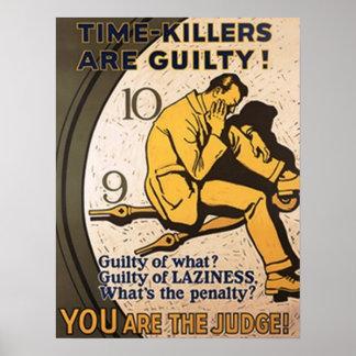 Los Tiempo-Asesinos son culpables Impresiones