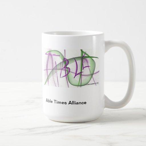 Los tiempos capaces Alliance asaltan Tazas De Café