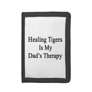 Los tigres curativos son la terapia de mi papá
