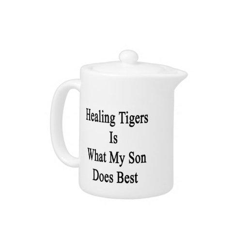 Los tigres curativos son lo que hace mi hijo mejor