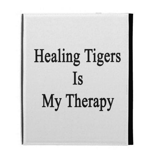 Los tigres curativos son mi terapia