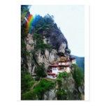 Los tigres jerarquizan Bhután y el arco iris de Postal