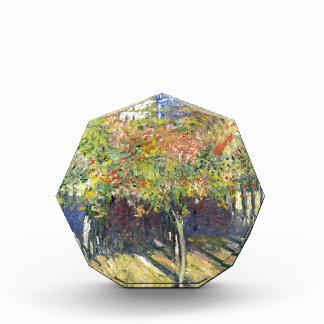 Los tilos de Poissy de Claude Monet