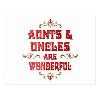Los tíos de las tías son maravillosos postal