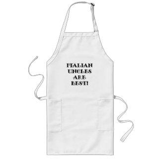 Los tíos italianos son los mejores delantal largo