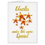 Los tíos son especiales tarjetas