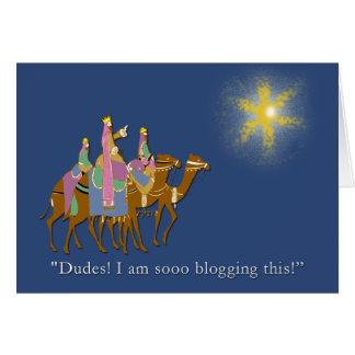 ¡Los tipos Blogging tan esto! Tarjetón