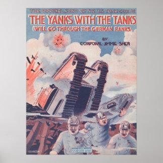 Los tirones con los tanques impresiones