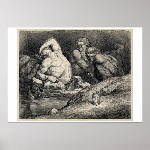 Los titanes, por Gustave Doré Posters