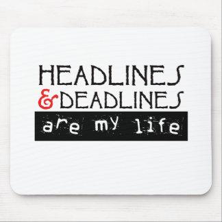 Los títulos y los plazos son mi vida tapetes de ratones