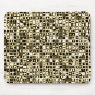 Los tonos apenados de la sepia texturizaron el mod tapete de ratones