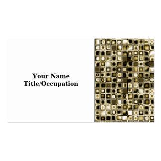 Los tonos apenados de la sepia texturizaron el tarjetas de visita