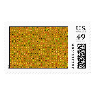 Los tonos de oro de la tierra texturizaron el sellos