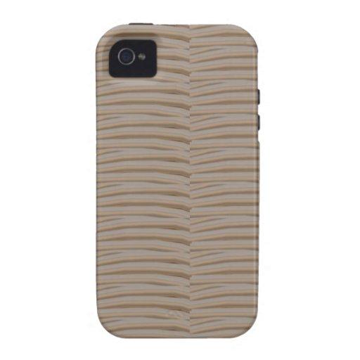 Los TONOS en blanco EDIT de las SOMBRAS añaden al  Case-Mate iPhone 4 Funda