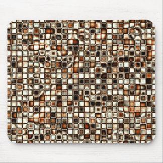 Los tonos ricos de la sepia texturizaron el modelo tapetes de ratones