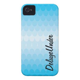 Los topetones del azul iPhone 4 Case-Mate cárcasas