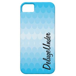 Los topetones del azul iPhone 5 funda