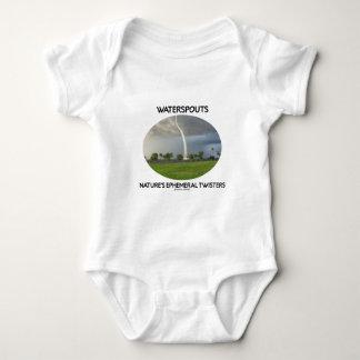 Los tornados efímeros de la naturaleza de las body para bebé
