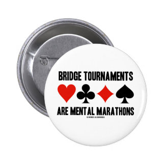 Los torneos del puente son maratones mentales pins