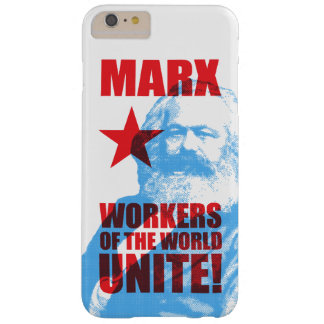 ¡Los trabajadores de Karl Marx del mundo unen! Funda De iPhone 6 Plus Barely There