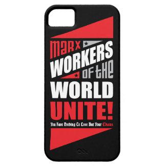 Los trabajadores de Karl Marx del mundo unen iPhone 5 Carcasa