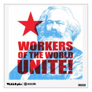 ¡Los trabajadores de Karl Marx del mundo unen! Vinilo