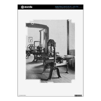 Los trabajos de impresión, de los talleres del Bau Pegatina Skin Para iPad 3