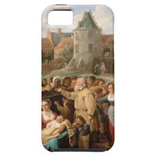 Los trabajos de la misericordia de David Teniers Funda Para iPhone SE/5/5s