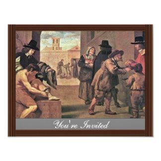 Los trabajos de la misericordia de Montallier Invitación