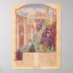 Los trabajos de Virgil con comentario por Servius Posters