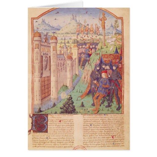 Los trabajos de Virgil con comentario por Servius Tarjeton