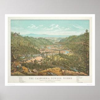Los trabajos del polvo de California (1306) Póster