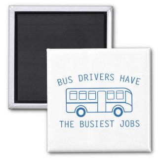 Los trabajos más ocupados imán cuadrado