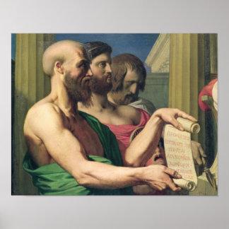 Los trágicos griegos póster