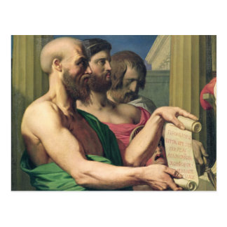 Los trágicos griegos postal