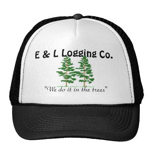 """los treess, E y L registrando el Co., """"lo hacemos  Gorros Bordados"""