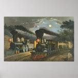 Los trenes expresos del relámpago, 1863 impresiones