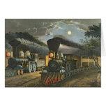 Los trenes expresos del relámpago, 1863 felicitacion