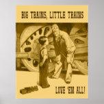 Los trenes grandes, pocos trenes los aman todo el