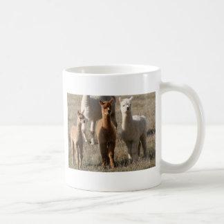 Los tres amigos, Alpaca-Estilo Taza Clásica