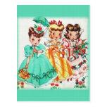 Los tres de nosotros tarjeta postal