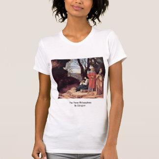 Los tres filósofos por Giorgione Camisetas