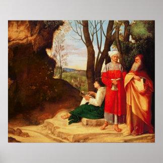 Los tres filósofos póster