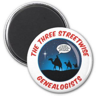 Los tres Genealogists pícaros Iman