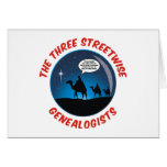 Los tres Genealogists pícaros Tarjetas