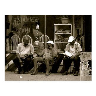Los tres hombres sabios de alturas de la postales