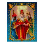 Los tres hombres sabios postal