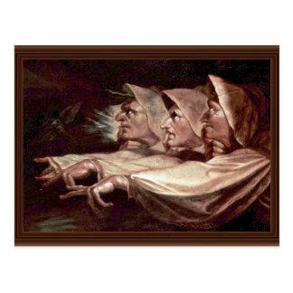Los tres ingleses de las brujas - las hermanas o e postales